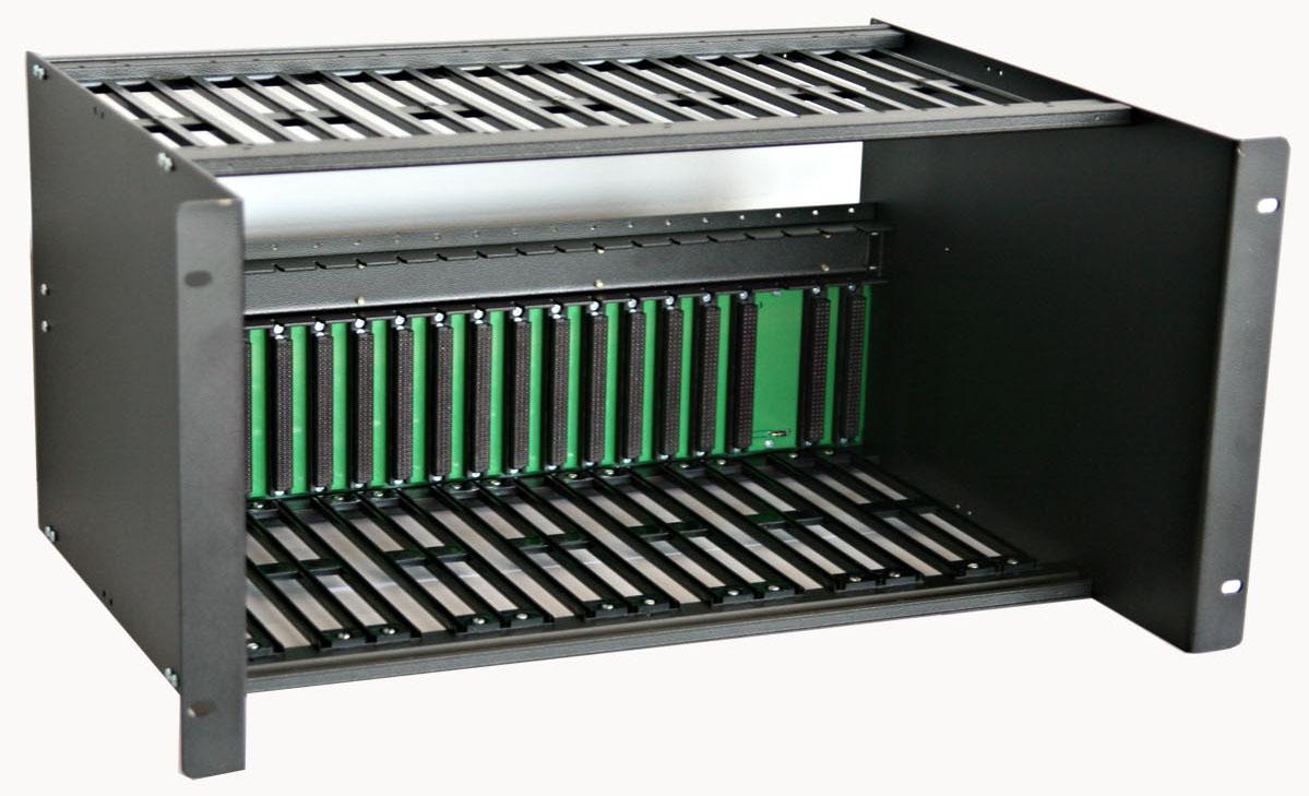 Оборудование гибкого            мультиплексора - крейт для стойки 19'